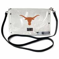 Texas Longhorns Clear Envelope Purse