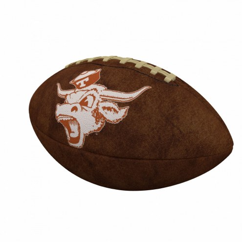Texas Longhorns Official Size Vintage Football