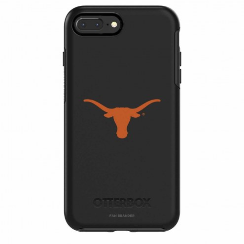 Texas Longhorns OtterBox iPhone 8/7 Symmetry Black Case