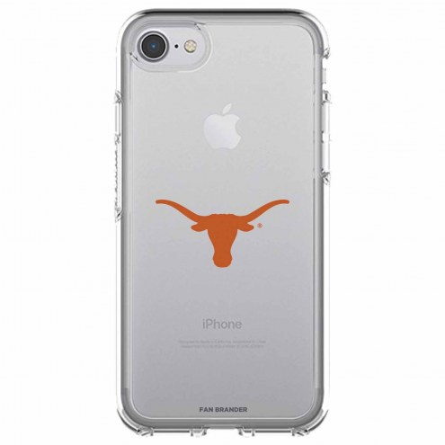 Texas Longhorns OtterBox iPhone 8/7 Symmetry Clear Case