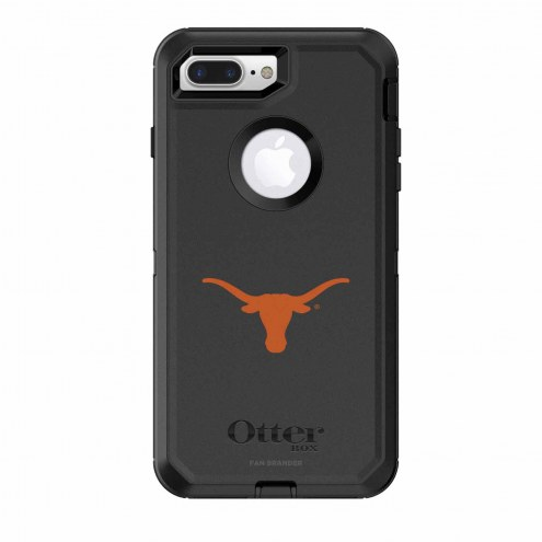 Texas Longhorns OtterBox iPhone 8 Plus/7 Plus Defender Black Case