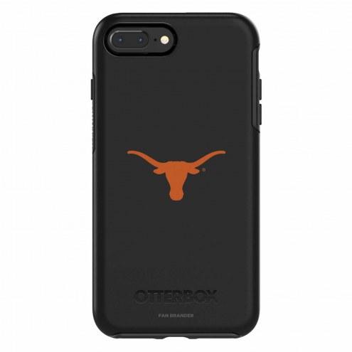 Texas Longhorns OtterBox iPhone 8 Plus/7 Plus Symmetry Black Case