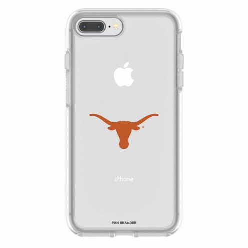 Texas Longhorns OtterBox iPhone 8 Plus/7 Plus Symmetry Clear Case