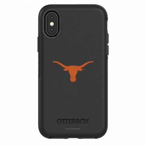 Texas Longhorns OtterBox iPhone X Symmetry Black Case