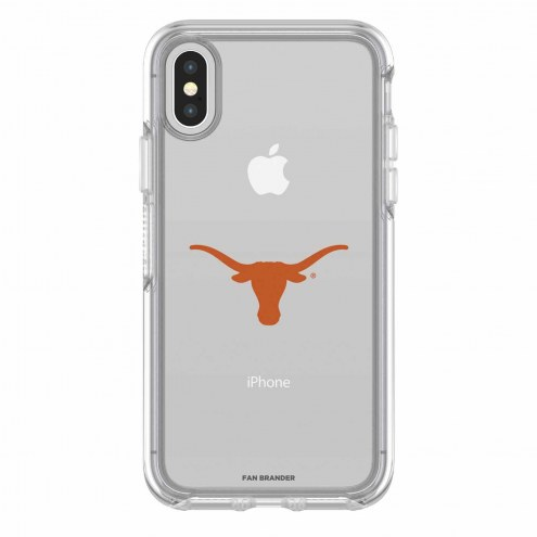 Texas Longhorns OtterBox iPhone X Symmetry Clear Case