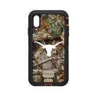 Texas Longhorns OtterBox iPhone XS Max Defender Realtree Camo Case