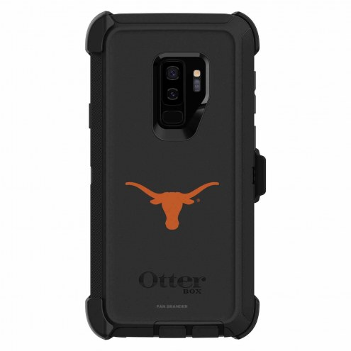 Texas Longhorns OtterBox Samsung Galaxy S9+ Defender Black Case