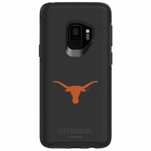 Texas Longhorns OtterBox Samsung Galaxy S9 Symmetry Black Case