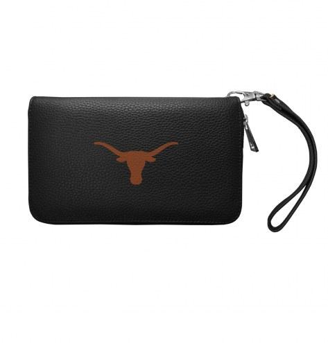 Texas Longhorns Pebble Organizer Wallet