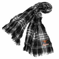 Texas Longhorns Plaid Crinkle Scarf