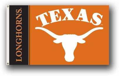 Texas Longhorns Premium 2-Sided 3' x 5' Flag
