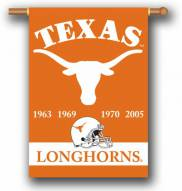 """Texas Longhorns Premium Championship Year 28"""" x 40"""" Two-Sided Banner"""