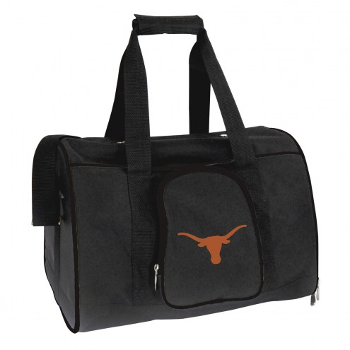 Texas Longhorns Premium Pet Carrier Bag