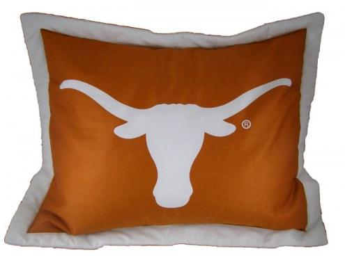 Texas Longhorns Printed Pillow Sham