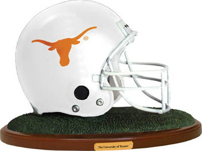 Texas Longhorns Collectible Football Helmet Figurine