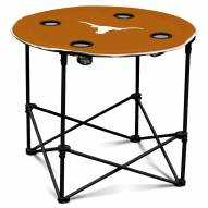 Texas Longhorns Round Folding Table