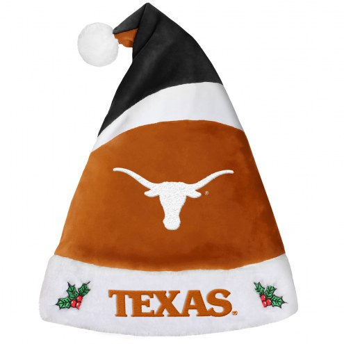 Texas Longhorns Santa Hat