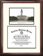 Texas Longhorns Scholar Diploma Frame