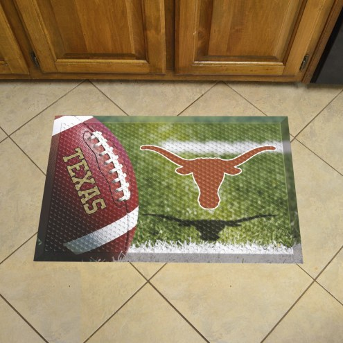 Texas Longhorns Scraper Door Mat