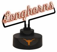 Texas Longhorns Script Neon Desk Lamp