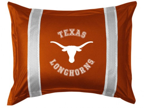 Texas Longhorns Sidelines Pillow Sham