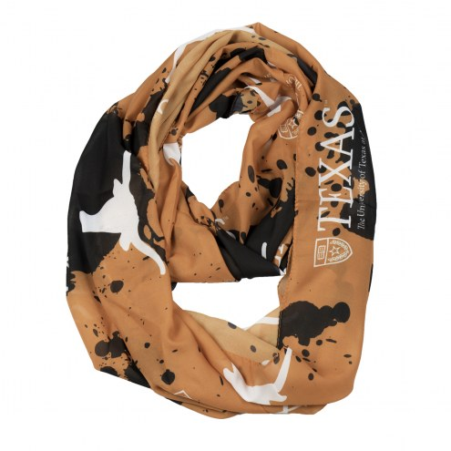 Texas Longhorns Silky Infinity Scarf