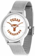 Texas Longhorns Silver Mesh Statement Watch