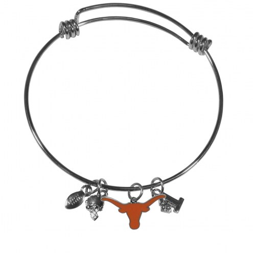 Texas Longhorns Charm Bangle Bracelet