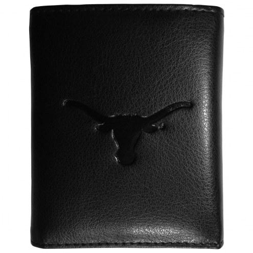 Texas Longhorns Embossed Leather Tri-fold Wallet