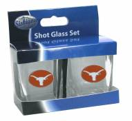 Texas Longhorns Shot Glass Set