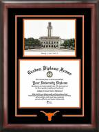 Texas Longhorns Spirit Diploma Frame with Campus Image