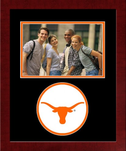 Texas Longhorns Spirit Horizontal Photo Frame
