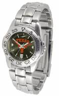 Texas Longhorns Sport Steel AnoChrome Women's Watch