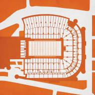 Texas Longhorns Stadium Print