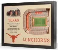 Texas Longhorns 25-Layer StadiumViews 3D Wall Art