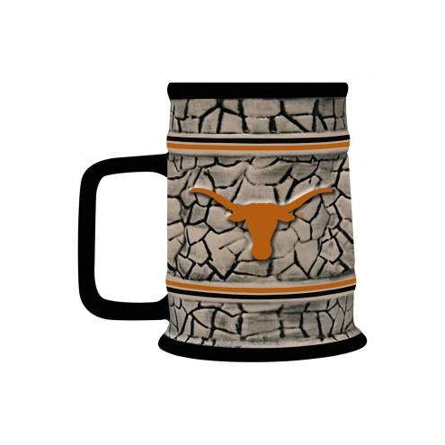 Texas Longhorns Stone Stein