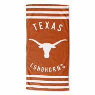 Texas Longhorns Stripes Beach Towel