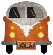 Texas Longhorns Team Bus Sign