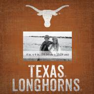 """Texas Longhorns Team Name 10"""" x 10"""" Picture Frame"""