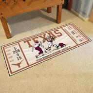 Texas Longhorns Ticket Runner Rug