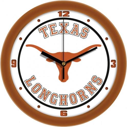 Texas Longhorns Traditional Wall Clock