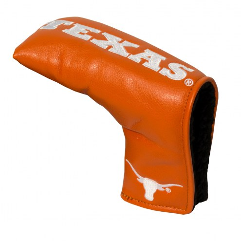 Texas Longhorns Vintage Golf Blade Putter Cover