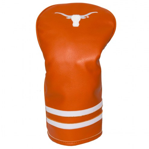 Texas Longhorns Vintage Golf Driver Headcover