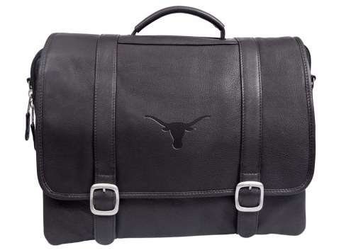 Texas Longhorns Willow Rock Leather Laptop Briefcase