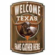 Texas Longhorns Wood Sign