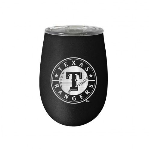 Texas Rangers 10 oz. Stealth Blush Wine Tumbler