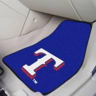 Texas Rangers 2-Piece Carpet Car Mats