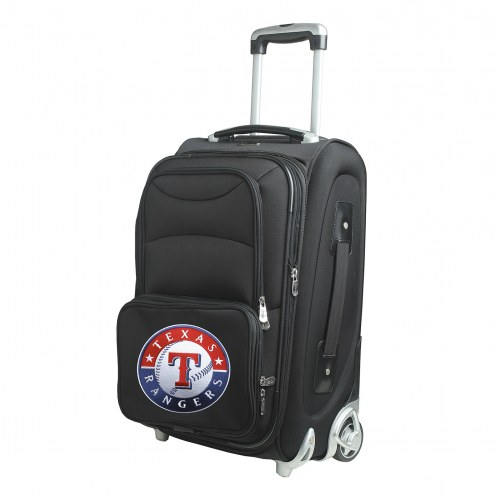 """Texas Rangers 21"""" Carry-On Luggage"""