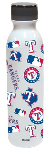 Texas Rangers 24 oz. Stainless Steel All Over Print Water Bottle