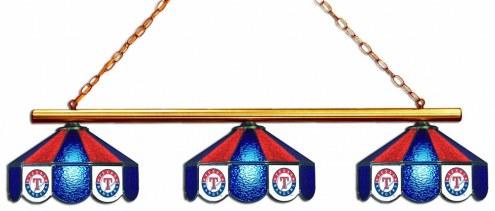 Texas Rangers 3 Shade Pool Table Light